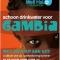 """Poster """"Schoon drinkwater voor Gambia"""""""