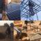 Bouw van de eerste waterinstallatie in Kerr Sulay, foto's